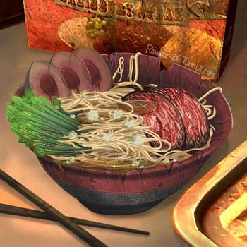 Fallout Foods: Takahashi's Secret Script Noodles by Ranger-26