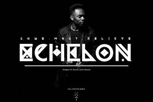 ECHELON Typeface 2012 by crymz