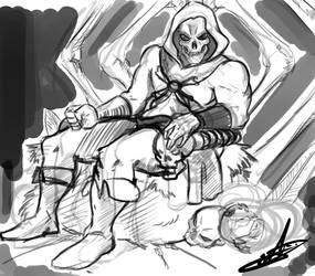 Skeletor WIP by Sif-Furet