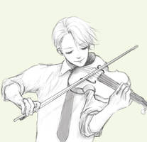 Vitya on concert by litorella