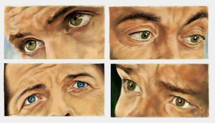 SUPERNATURAL Eyes by jacsch71