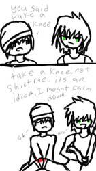 take a knee by blackflamehope2