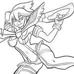Ryuko Lines by Reabault