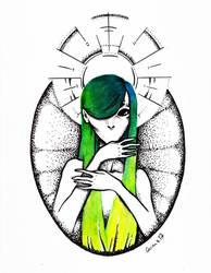 Alien Madonna by Garance-Croville