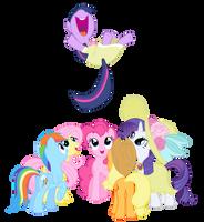 Twilight's Party by matrix541