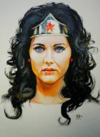 Lynda Carter Wonder Woman by Gossamer1970