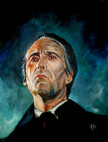 Christopher Lee as Count Dracula by Gossamer1970
