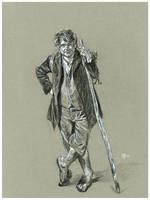 The Hobbit: Bilbo Baggins by Gossamer1970