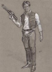 Han Solo: Smuggler by Gossamer1970