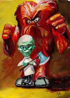 Gossamer and the Mad Scientist by Gossamer1970