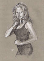 Buffy The Vampire Slayer by Gossamer1970