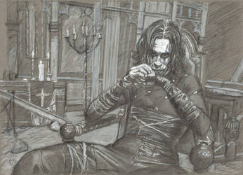 Eric Draven: The Crow by Gossamer1970