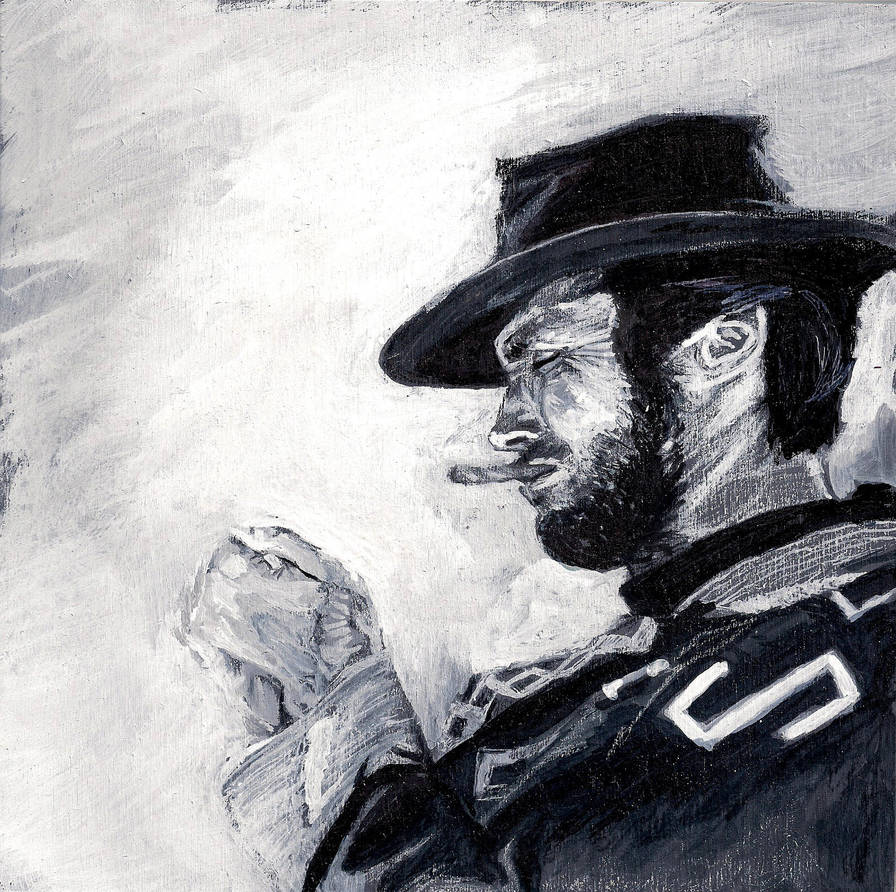 Clint Eastwood Man with No Name by Gossamer1970