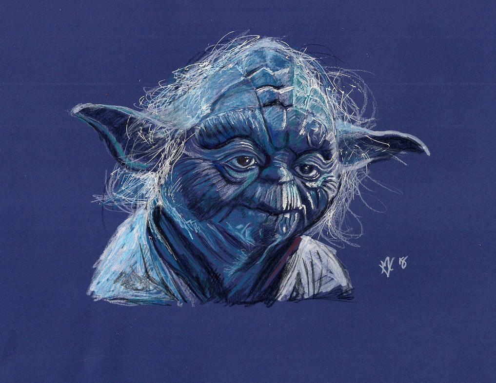 Yoda by Gossamer1970