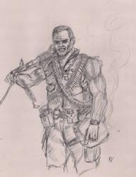 Stan Lee  Jack Kirby's Sgt Nick Fury by Gossamer1970