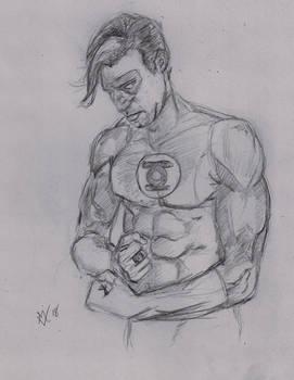 Daily Sketch Challenge Green Lantern by Gossamer1970