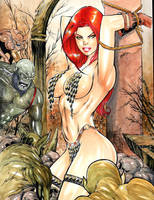 RED SONJA by ednardo666