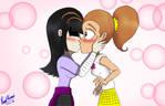 LuaggieWeek Day 1: Kissing by ReedAhmad