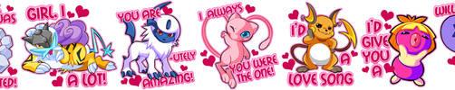 Pokemon Valentines by Kuitsuku