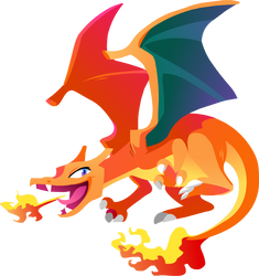 Charizard #006 by Kuitsuku