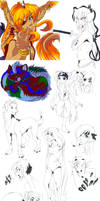 Doodle Dump by Kuitsuku
