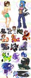 HEY LOOK arts by Kuitsuku