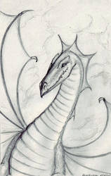 Dragon Artist Trading Card by puppeteer-for-kings