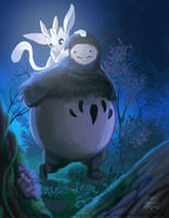 Ori and The Blind Forest by TheLittleGriffin