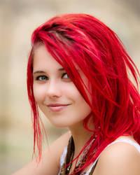 Hair of Fire by Felynx-x