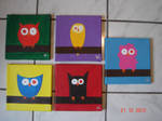 Crazy Owls by Mutany