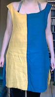 Yellowblue tunic (geelblauwe tuniek) by Mutany
