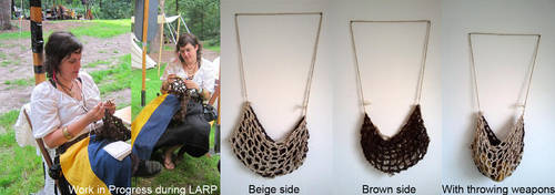 Crocheted larpbag by Mutany