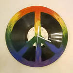 Hippieclock from LP record by Mutany