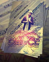 FREE PSD DANCE FLYER by flyerstars