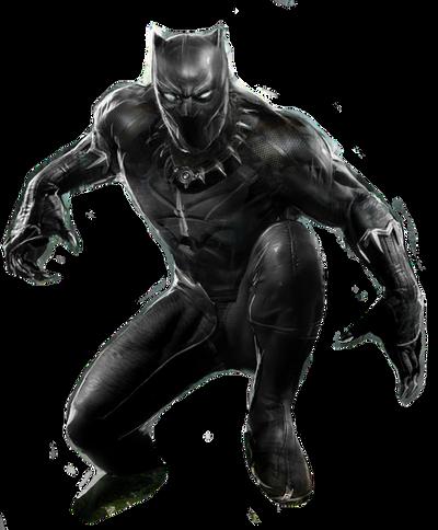 Marvel's Black Panther Transparent by ggreuz on DeviantArt