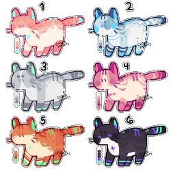 $5/500pt cat adopts (closed) by kvives
