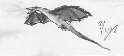 dragon: 2 of 5 by darkblackcorner