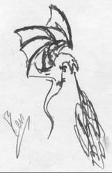dragon: 5 of 5 by darkblackcorner