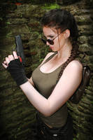 Lara Croft - Tomb Raider by KatDiVine22