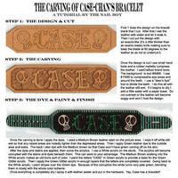 Bracelet Tutorial: TheNailBoy by LeatherArtisans