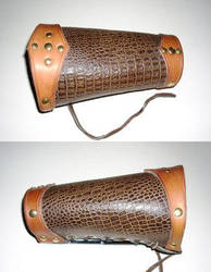 Dragonhide Bracer by Ruehl by LeatherArtisans