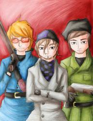 the inglourious basterds by YoukoKurama25