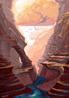 Desert Veins by Lanasy