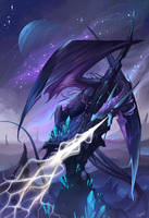 Purple Dragon by Lanasy