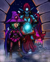 Sorceress by CaptainVigilante