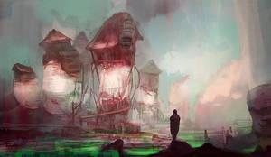 Cityscape by Mocaran