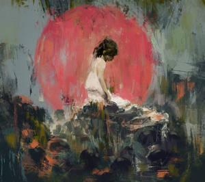 Portrait of summer 1 by Mocaran