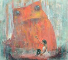 The princess and the frog by Mocaran