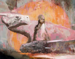 The princess and the dragons by Mocaran