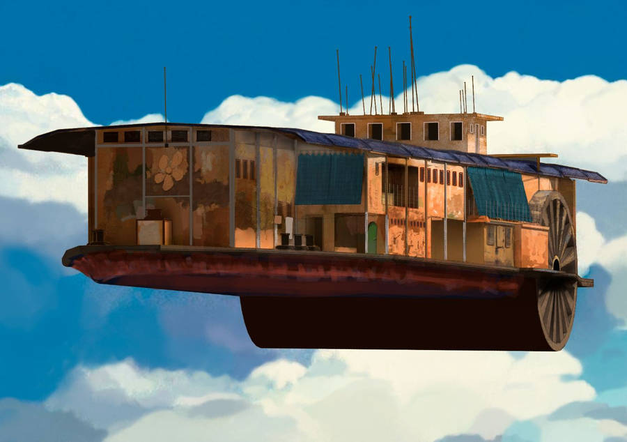 Flying Boat by Mocaran